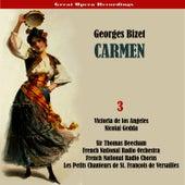 Bizet - Carmen (Los Angeles, Gedda, Beecham) [1958/59], Volume 3 by The French National Radio Orchestra