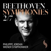 Beethoven: Symphonies Nos. 2 & 7 (Live) by Wiener Symphoniker