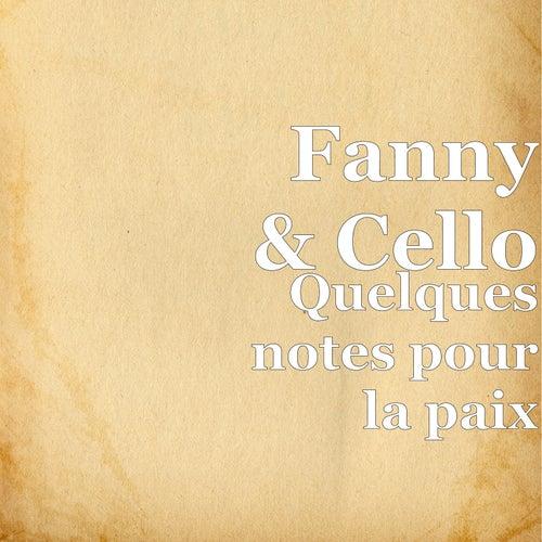 Quelques notes pour la paix by Fanny
