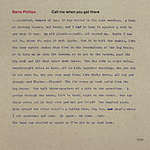 Call Me When You Get There von Barre Phillips