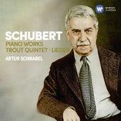 Schubert: Piano Works, Trout Quintet, Lieder by Artur Schnabel