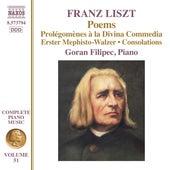 Liszt: Poems by Goran Filipec