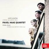 Janáček:  String Quartet No. 1 / Haas:  String Quartets Nos 1 & 3 von Pavel Haas Quartet