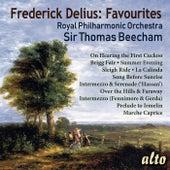 Frederick Delius Favourites de Sir Thomas Beecham