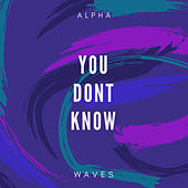 You Don't Know by Alpha