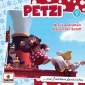 001/Drei Landratten bauen ein Schiff von Petzi