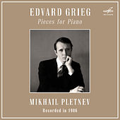 Grieg: Pieces for Piano de Mikhail Pletnev
