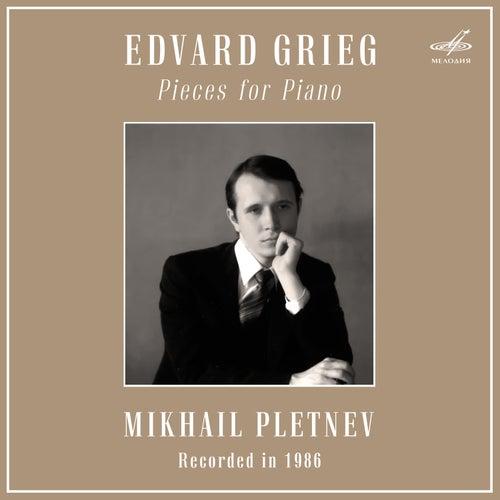 Grieg: Pieces for Piano de Mikhail Pletnev