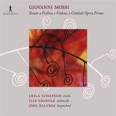Mossi: Sonate Opera Prima a Violino e Violone, o Cimbalo by Jorg Halubek