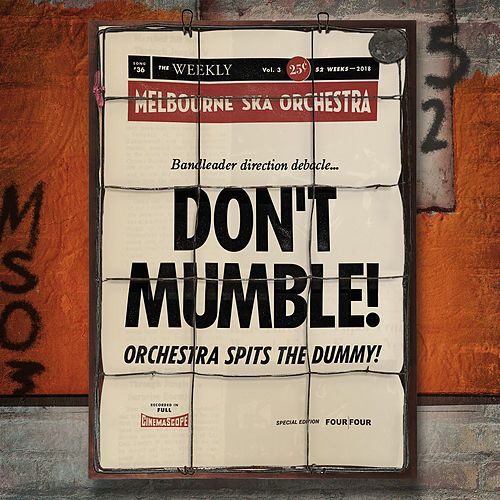 Don't Mumble! di Melbourne Ska Orchestra