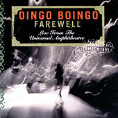 Farewell: Live From The Universal Amphitheatre-Halloween 1995 von Oingo Boingo
