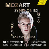 Mozart: Symphonies Nos. 25 and 40 & Sonata for 2 Pianos, K. 448 by Various Artists