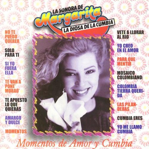 Momentos de amor y cumbia by Margarita y su Sonora
