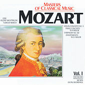 Masters Of Classical Music: Wolfgang Amadeus Mozart by Various Artists