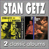 Stan Getz and J.J.Johnson at the Opera House de Stan Getz