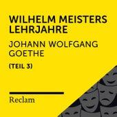 Goethe: Wilhelm Meisters Lehrjahre, III. Teil (Reclam Hörbuch) von Reclam Hörbücher