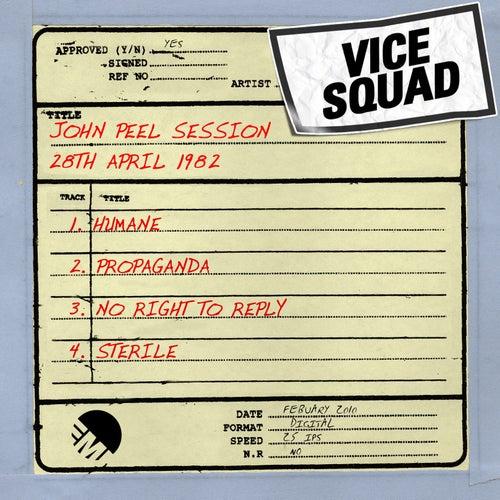 John Peel Session (28th April 1982) by Vice Squad