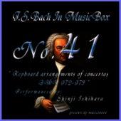 Bach In Musical Box 41 / Keyboard Arrangements Of Concertos Bwv 972 - 973 by Shinji Ishihara