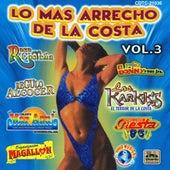 Los Mass Arrecho De La Costa Vol 3 by Various Artists