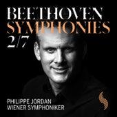 Beethoven: Symphonies Nos. 2 & 7 von Wiener Symphoniker