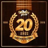 20 AÑOS HACIENDO HISTORIA de Los Cuates De Sinaloa