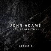 You're Beautiful (Acoustic) di John Adams