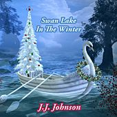 Swan Lake In The Winter by J.J. Johnson