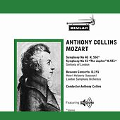 Anthony Collins - Mozart de Anthony Collins