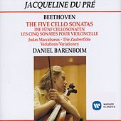 The Five Cello Sonatas by Jacqueline du Pre