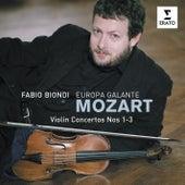 Mozart Violin Concertos 1,2 & 3 by Europa Galante