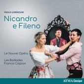 Lorenzani: Nicandro e Fileno de Various Artists
