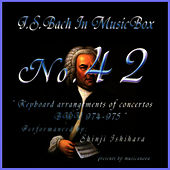 Bach In Musical Box 42 / Keyboard Arrangements Of Concertos Bwv 974 - 975 by Shinji Ishihara