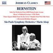 Bernstein: 1600 Pennsylvania Avenue Suite, Slava!, CBS Music & A Bernstein Birthday Bouquet von São Paulo Symphony Orchestra