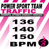 Traffic (Powerful Uptempo Cardio, Fitness, Crossfit & Aerobics Workout Versions) de Power Sport Team