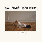 Les choses extérieures de Salomé Leclerc