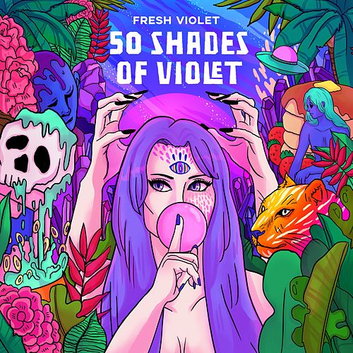 50 Shades of Violet by Fresh Violet