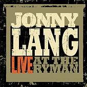 Live at the Ryman by Jonny Lang