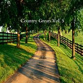 Country Greats Vol.5 de Various Artists