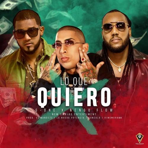 Lo Que Quiero by G-One