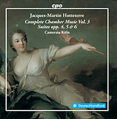 Hotteterre: Complete Chamber Music, Vol. 3 de Various Artists