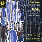Brahms & Reger: Clarinet Sonatas by Nicholas Cox