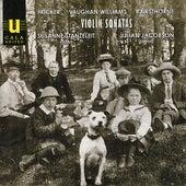 Violin Sonatas by Fricker, Vaughan Williams and Rawsthorne by Susanne Stanzeleit