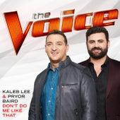 Don't Do Me Like That (The Voice Performance) de Kaleb Lee