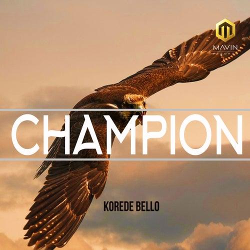 Champion van Korede Bello