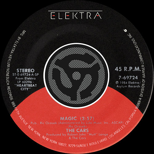 Magic / I Refuse by The Cars