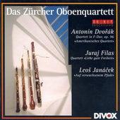 Dvorak, A.: String Quartet No. 12 / Filas, J.: Dear Good Old Freedom / Janacek, L.: On the Overgrown Path de Zurich Oboe Quartet