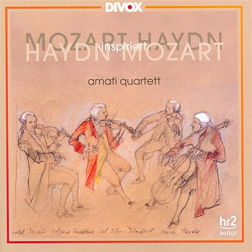 Mozart, W.A.: String Quartets Nos. 10, 19 / Haydn, J.: String Quartet No. 43 by Amati Quartet