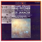 Strauss, R. / Pfitzner: Cello Sonatas / Janacek: Pohadka / Presto de Esther Nyffenegger