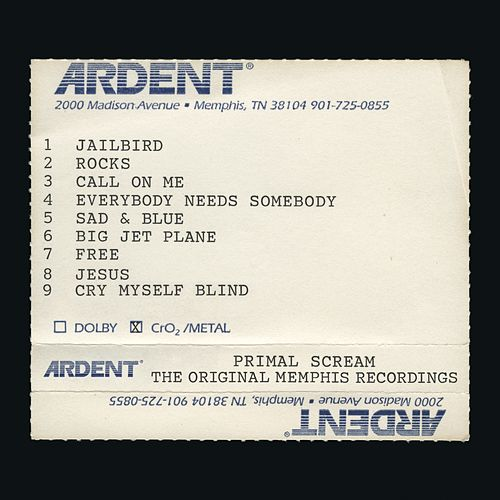 Give Out But Don't Give Up: The Original Memphis Recordings by Primal Scream