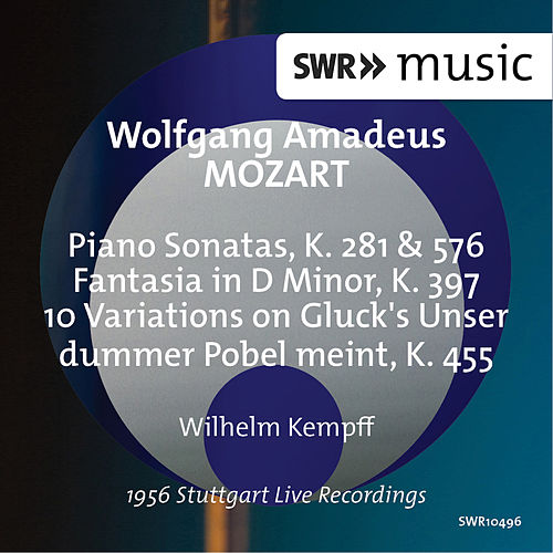 Mozart: Works for Piano by Wilhelm Kempff